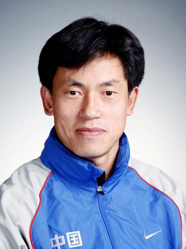 图文-北京奥运会中国代表团成立 男曲队员孟立志