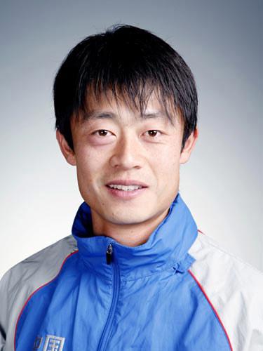 图文-北京奥运会中国代表团成立 男曲队员李玮