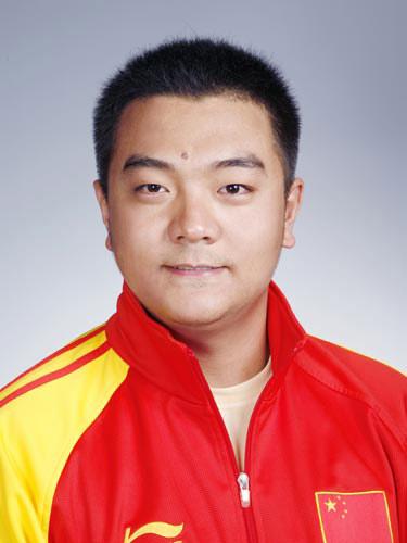 图文-北京奥运会中国代表团成立 射击队员李洋