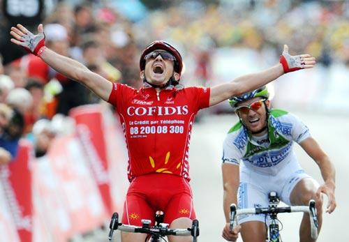 图文-2008环法各赛段冠军一览第3赛段杜莫林