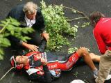 图文-2008环法大赛精彩回顾退出比赛相当遗憾