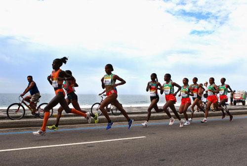 图文-半程马拉松世锦赛战况基普拉加特一马当先