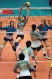 图文-全国女排联赛天津队成就第六冠组织快攻