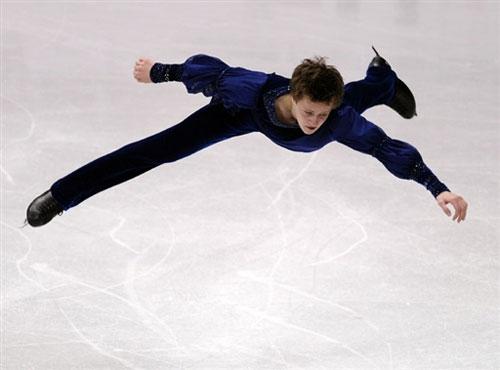 图文-花滑世锦赛男单短节目美国选手亚伯特