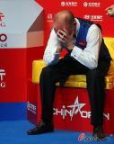图文-斯诺克中国公开赛颁奖典礼冠军激动泪洒赛场