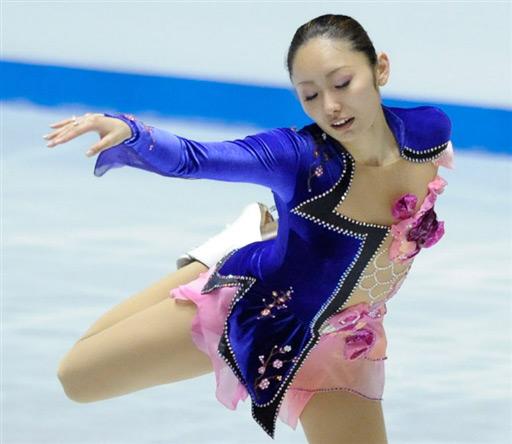 图文-花滑世锦赛团体赛首日日本选手楚楚动人