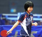 图文-美国华裔新星闪耀世乒赛年龄最小的参赛者