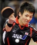 图文-世乒赛男单马琳4-3松平健太他险些挑落奥运冠军