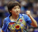 图文-世乒赛女单1/8决赛刘诗雯晋级显小将朝气