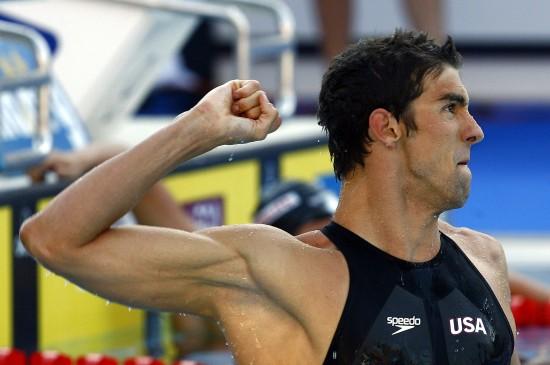 图文-世锦赛男子100米蝶泳决赛历史仍然属于菲鱼
