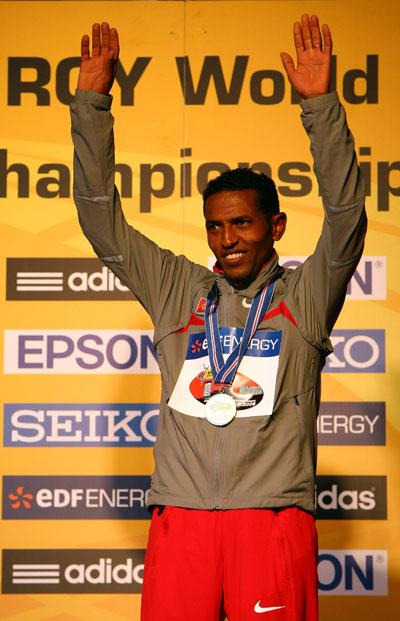 图文-半程马拉松世锦赛塔德塞实现男子组四连冠