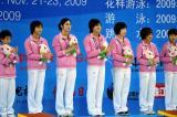 中国女团总分第一