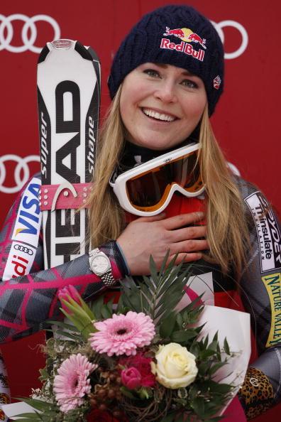 图文-高山滑雪世界杯奥地利站美国名将心怀感激