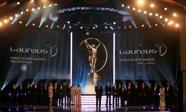 图文-2010劳伦斯颁奖典礼盛况体育界人士济济一堂