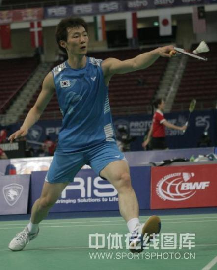 图文-汤姆斯杯羽毛球赛次精彩赛况李炫一晋级