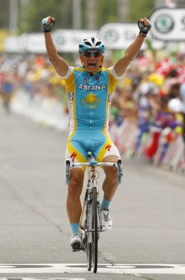 图文-环法第13赛段精彩瞬间维诺库罗夫夺得冠军