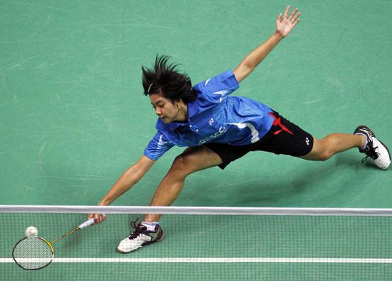 图文-羽毛球世锦赛女单泰国布拉纳普拉瑟苏克出局