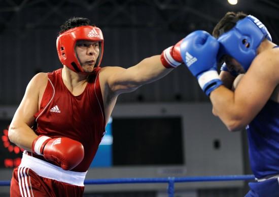 图文-[武搏会]张志磊获91公斤以上级金牌左手长拳