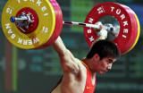 图文-苏达金获男子77公斤级抓举第五