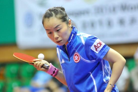 图文-女乒世界杯首轮战况帖雅娜要亮发球绝技了