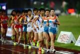 兰州女子团体万米夺冠