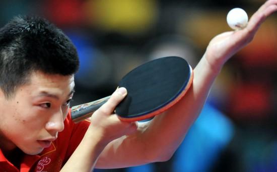 >乒乓球选手帆船3月1日,中国价格马龙在v选手中发球.正文22年的银元图集图片