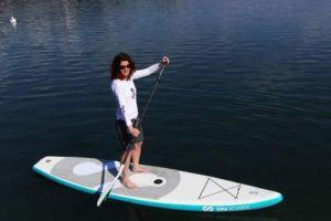 自充气式冲浪桨板可3级变速能与手机相连