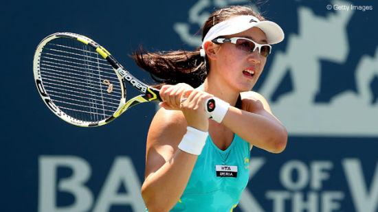 郑赛赛(图片来源:WTA中文官网)