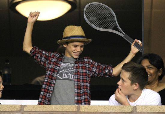 罗密欧网球天赋也很高