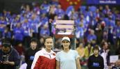 图文-联杯首日中国队2-0领先法国彭帅比较上镜
