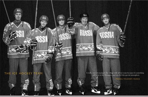 图文-北京奥运画册上的网坛明星斯拉夫军团