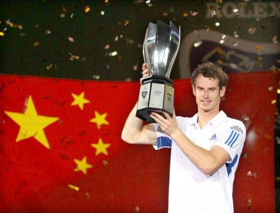 图文-上海大师赛穆雷完胜第一次在中国夺冠