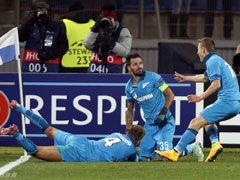 绿巨人助攻丹尼绝杀 泽尼特1-0本菲卡