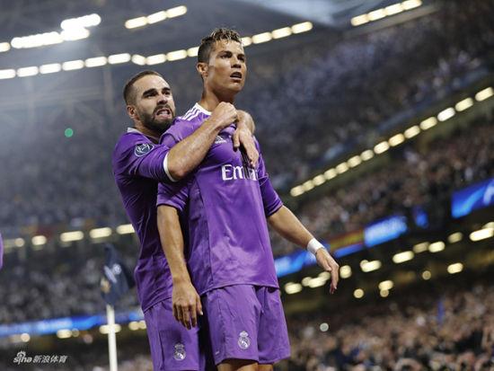 16/17赛季欧冠决赛 尤文VS皇马上半场录播