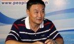 人民日报海外版国际体育部<br>主任陈昭第104棒