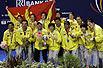 尤伯杯决赛中国3比0胜印尼 实现6连冠第11次捧杯