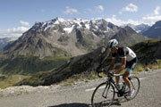 雄伟的阿尔卑斯山