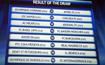欧冠抽签对阵揭晓