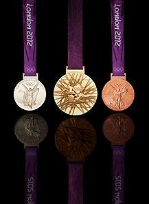 奥运奖牌展示
