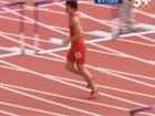 刘翔单腿跳完全程