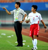 许恩别与韩国主教练