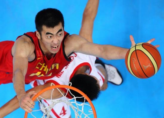 亚运男篮中国98-62朝鲜