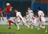 中国队合力防守