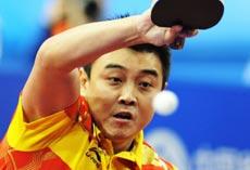 中国男乒送对手三枚鸭蛋3-0轻取韩国亚运5连冠