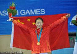 中国金牌数超北京亚运创历史夺金比例远低于1990