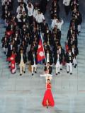 尼泊尔代表团入场