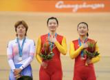 中国队一金一铜