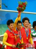 中国队获金牌