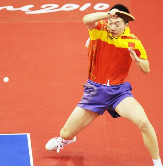 乒乓球男单17日赛况