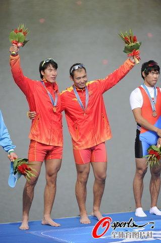 中国选手登最高领奖台
